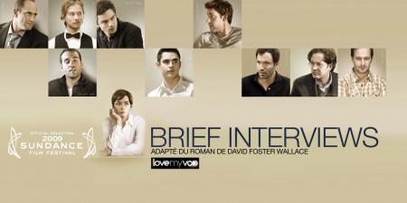 BRIEF INTERVIEWS (2009) de John Krasinski