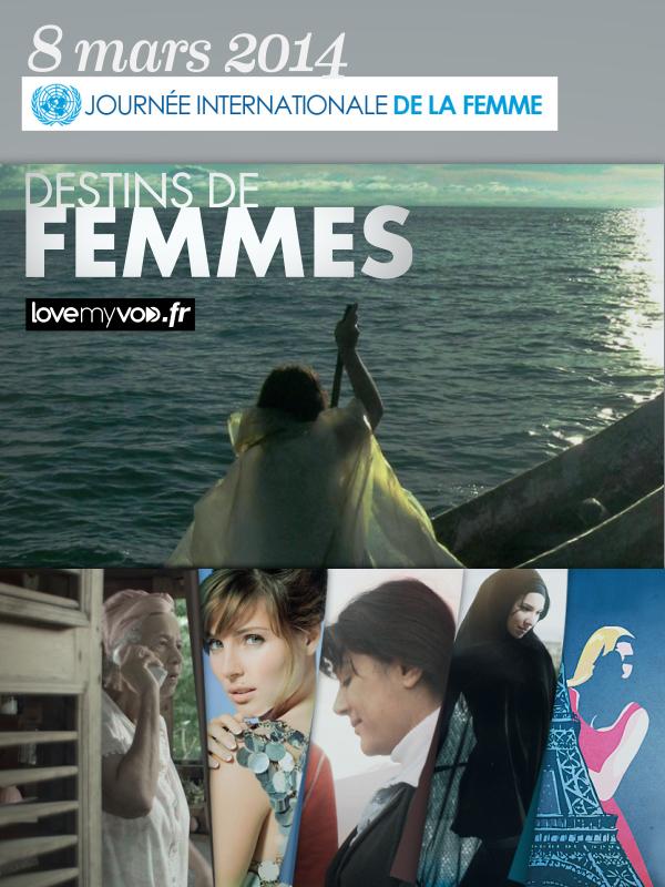 JOURNÉE DE LA FEMME : DESTINS DE FEMMES EN VOD