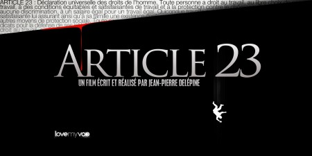 ARTICLE 23 (2012) de Jean-Pierre Delépine