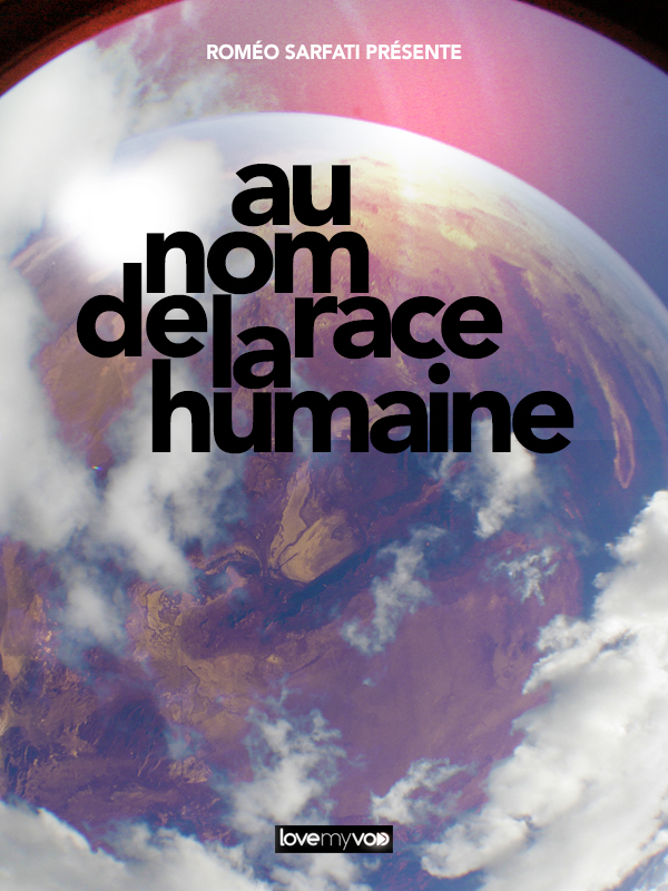 AFFICHE AU NOM DE LA RACE HUMAINE cinema
