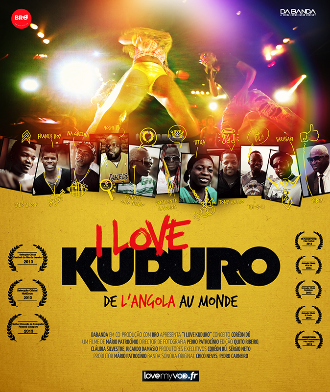 Affiche France I Love Kuduro