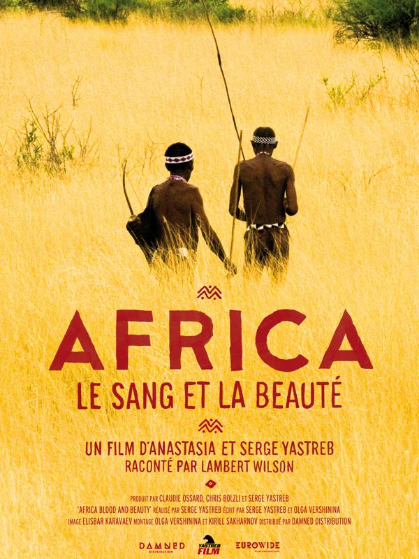 Africa le sang et la beauté affiche