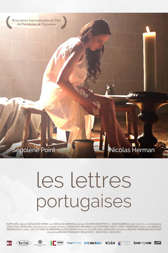 affiche cinema les lettres portugaises