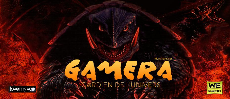 GAMERA : GARDIEN DE L'UNIVERS (1995) de Shûsuke Kaneko