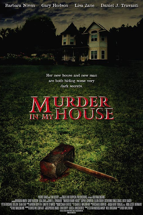 affiche cinema murder in my house SI PRÈS DE MOI !
