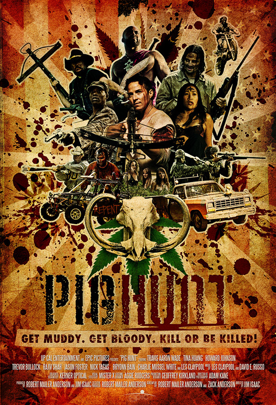 affiche cinema PIG HUNT