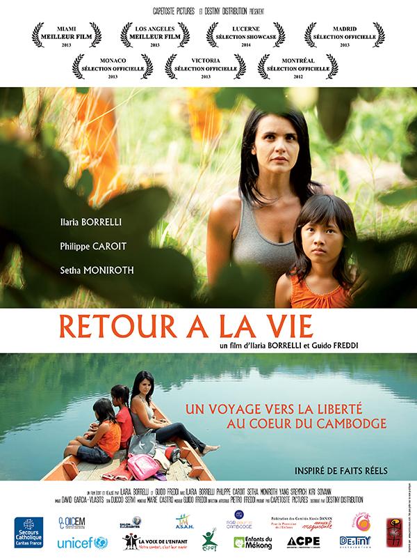 AFFICHE cinema retour a la vie