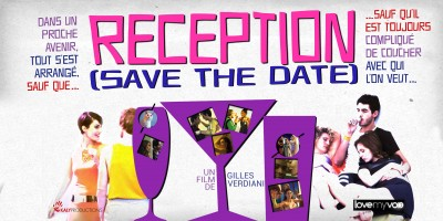 RECEPTION – SAVE THE DATE (2015) de Gilles Verdiani