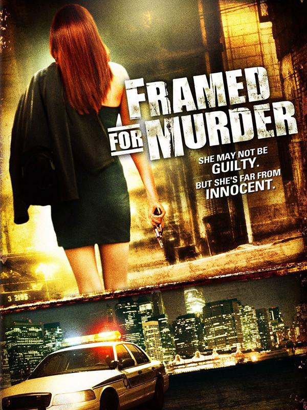 AFFICHE cinema framed for murder Une sœur dangereuse