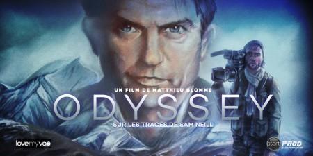 ODYSSEY : SUR LES TRACES DE SAM NEILL (2015) de Matthieu Blomme