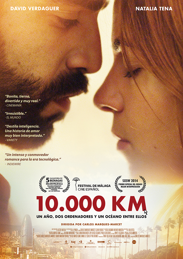 affiche cinema 10000 km