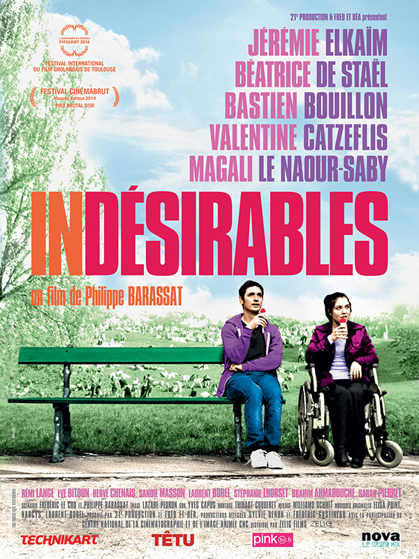 affiche cinema indesirables
