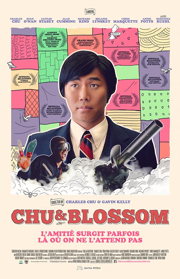 AFFICHE CINEMA Chu & Blossom