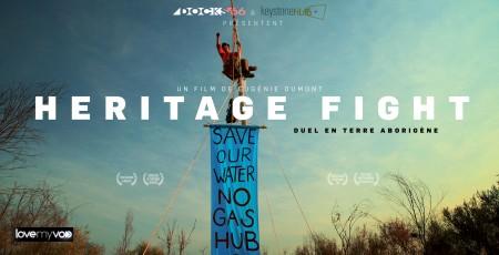 HERITAGE FIGHT (2014) de Eugénie Dumont