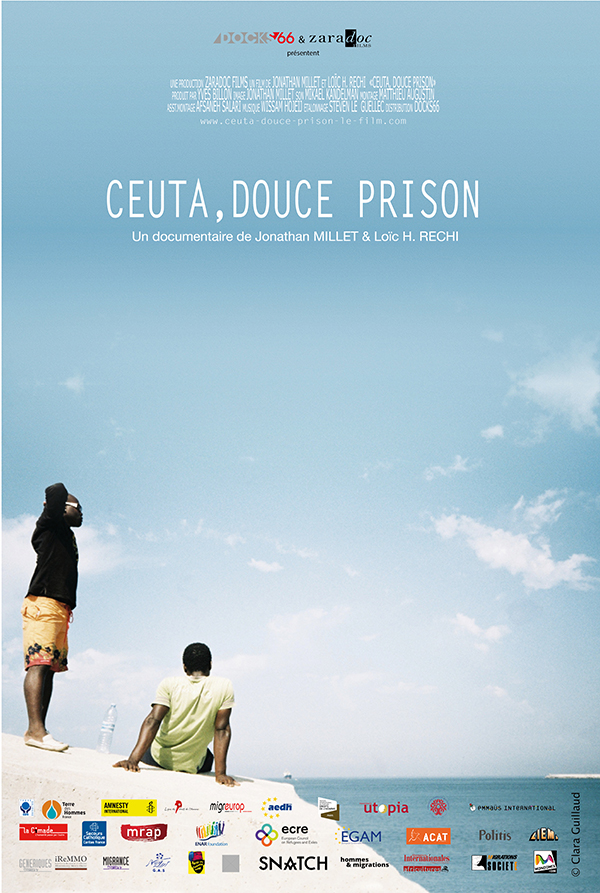 AFFICHE cinema CETA DOUCE PRISON