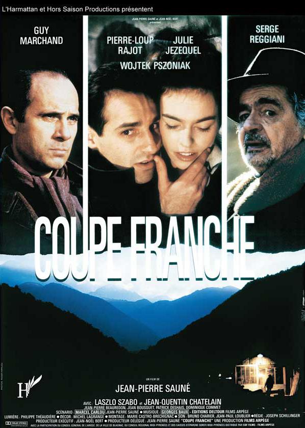 affiche cinema COUP FRANCHE