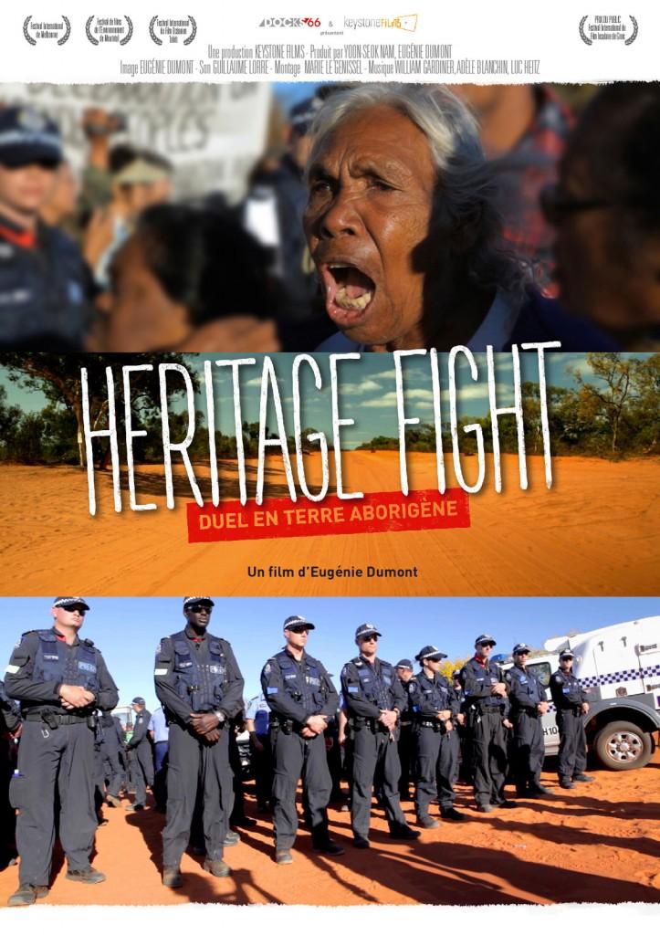 affiche cinema heritage fight