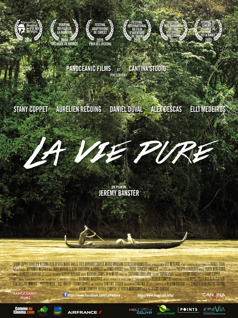 AFFICHE CINEMA LA VIE PURE