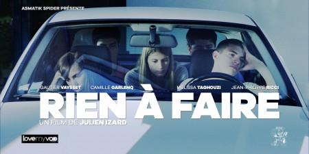 RIEN À FAIRE… (2016) de Julien Izard