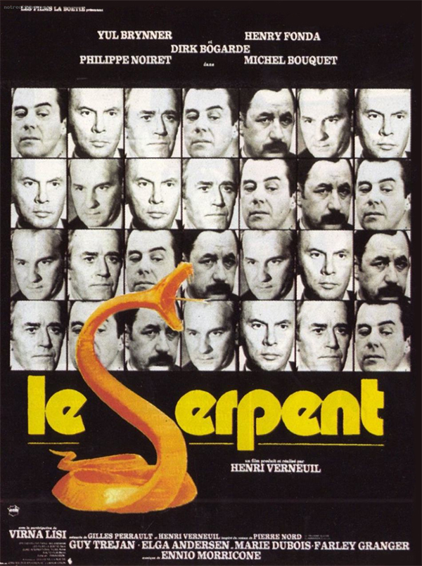 affiche cinema le serpent
