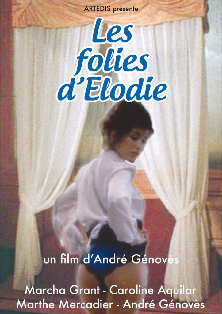 AFFICHE cinema FOLIES DELODIE
