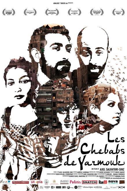 affiche cinema les chebabs de Yarmouk