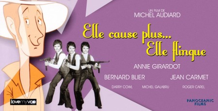 ELLE CAUSE, PLUS ELLE FLINGUE (1972) de Michel Audiard