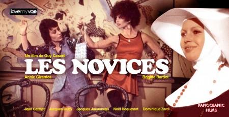 LES NOVICES (1970) de Guy Casaril