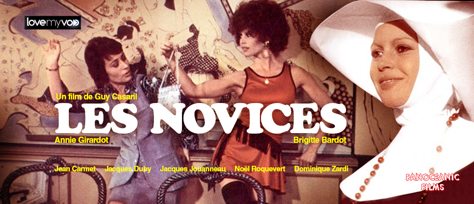 LES NOVICES (1970) de Guy Casaril