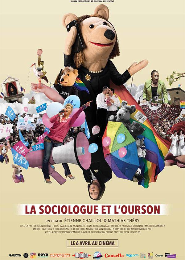 La sociologue et l'ourson affiche cinéma