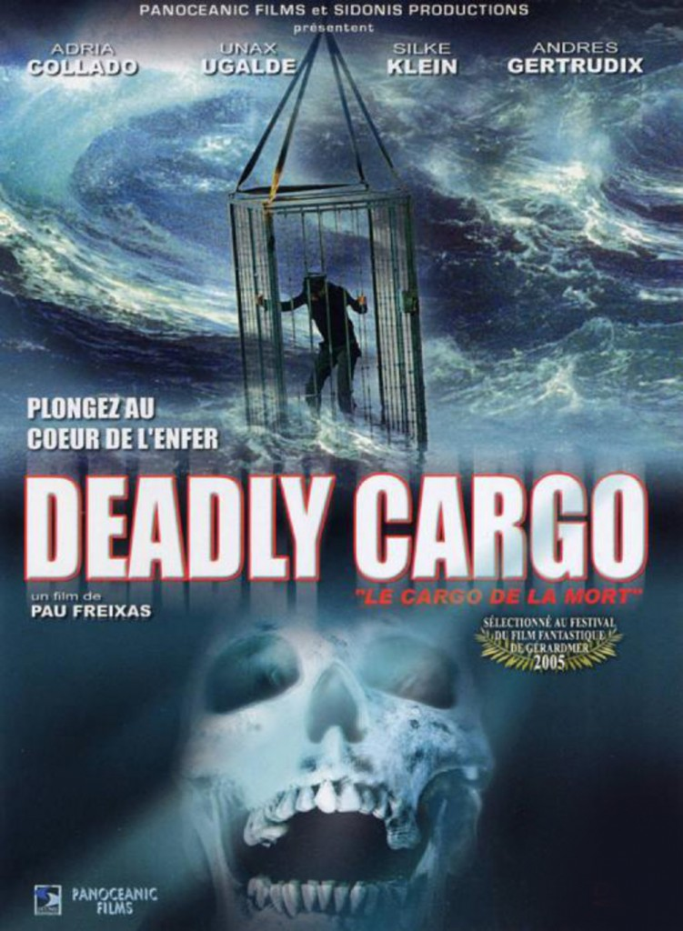 affiche cinema DEADLY CARGO
