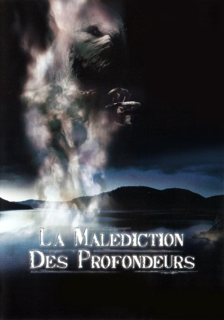 AFFICHE cinema LA MALEDICTION DES PROFONDEURS