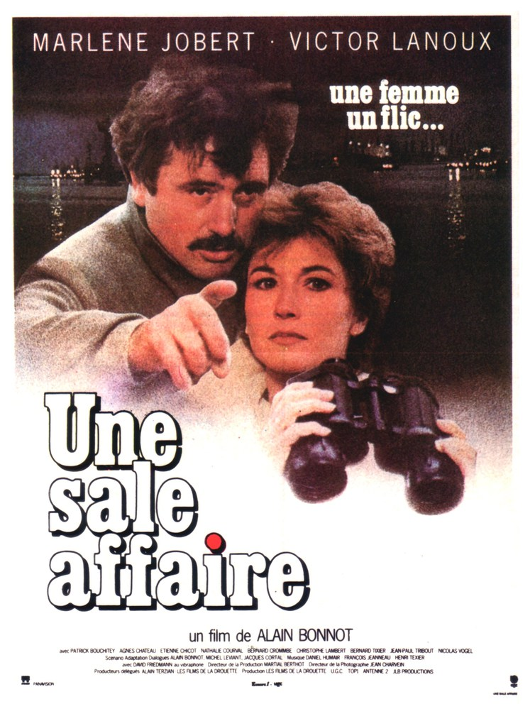 affiche cinema une sale affaire