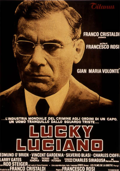 lucky luciano affiche cinem