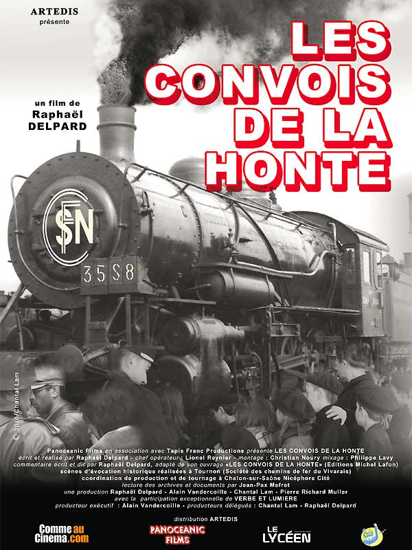 AFFICHE cinema LES CONVOIS DE LA HONTE