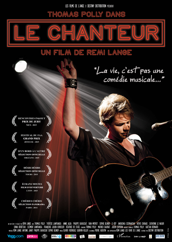AFFICHE cinema le chanteur