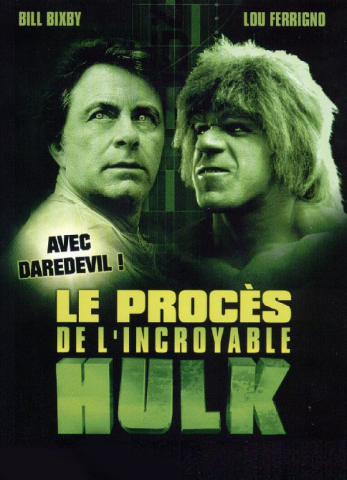AFFICHE CINEMA LE PROCES DE L'INCROYABLE HULK