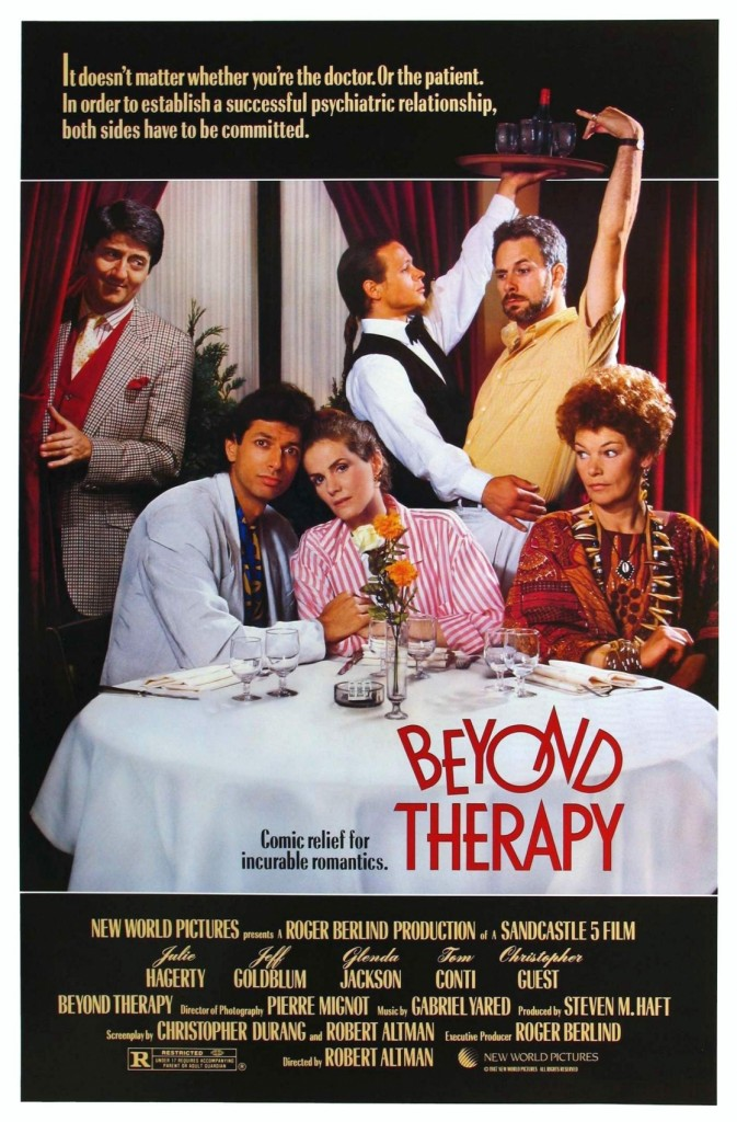 affiche cinema BEYOND THERAPY