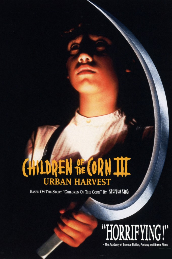 affiche cinema CHILDREN OF THE CORN