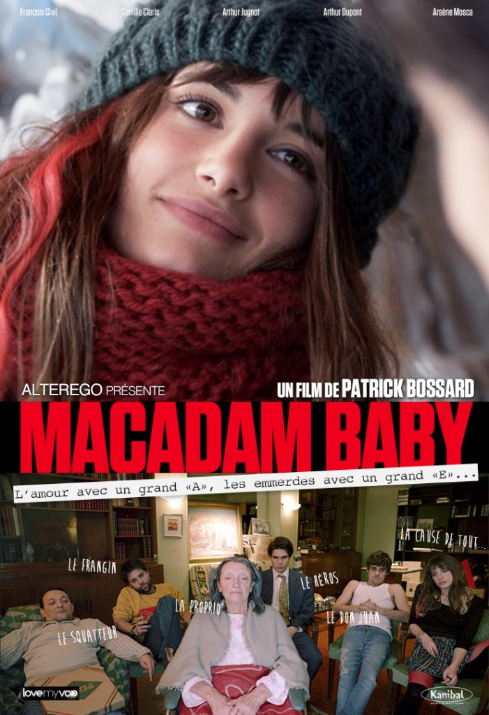 affiche cinema new macadam baby