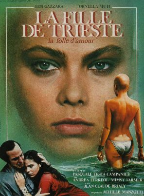 AFFICHE CINEMA LA FILLE DE TRIESTE