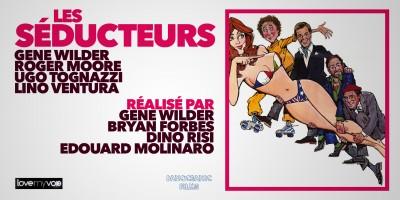 LES SÉDUCTEURS (1980) de B. Forbes, E. Molinaro, Dino Risi et G. Wilder