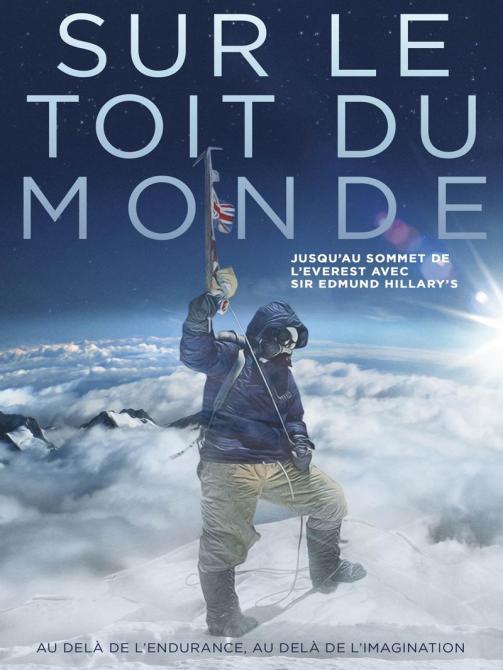 affiche cinema sur le toit du monde