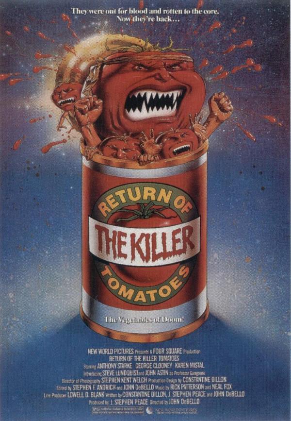 affiche cinema le retour des tomates tueuses