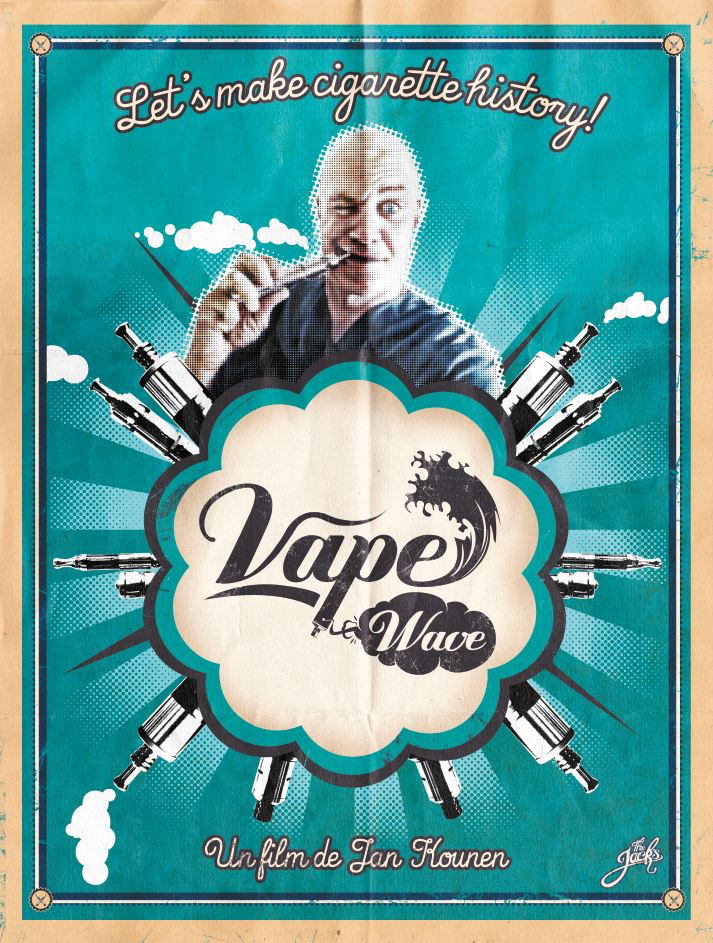VAPE WAVE AFFICHE cinema