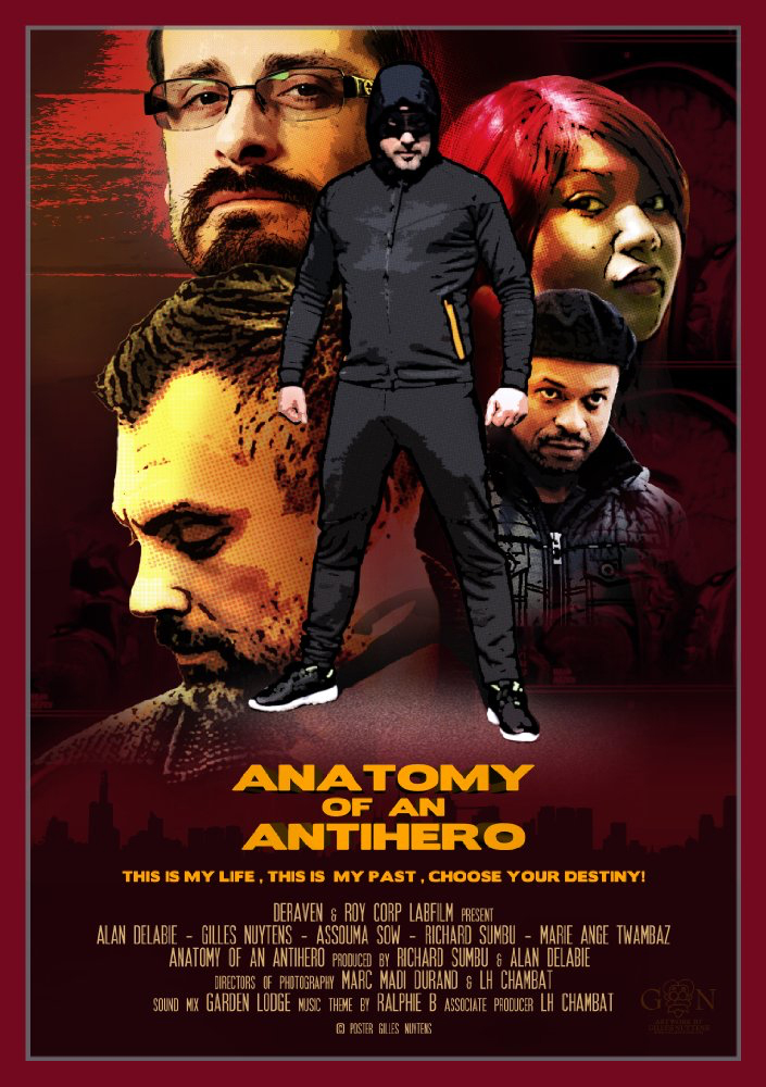 AFFICHE cine ANATOMY OF AN ANTI HERO SAISON 1