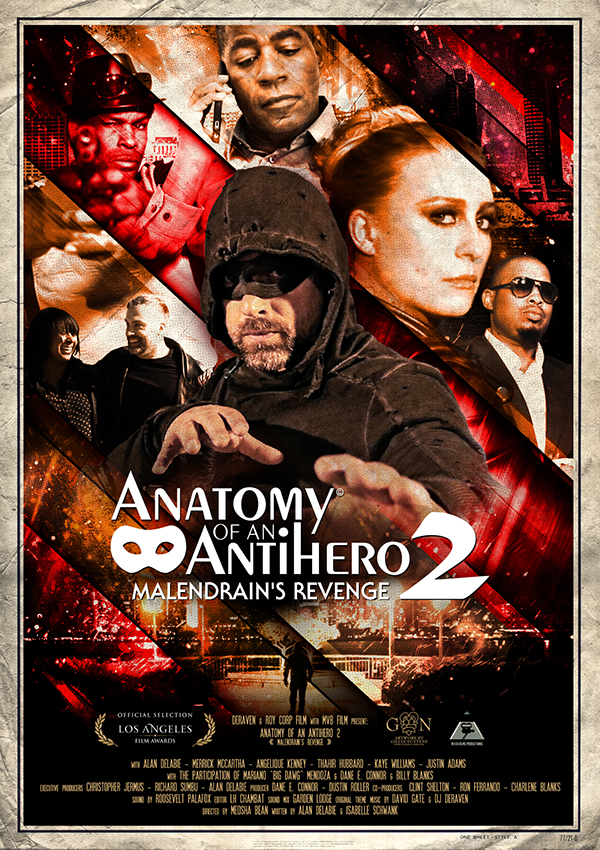 AFFICHE cine ANATOMY OF AN ANTI HERO SAISON 2