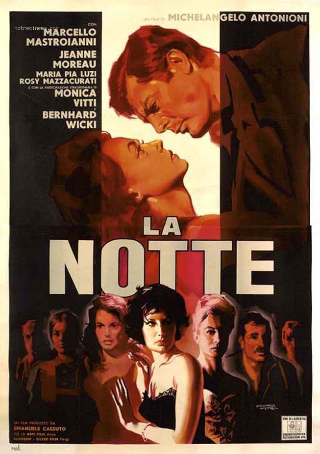 affiche cinema la notte
