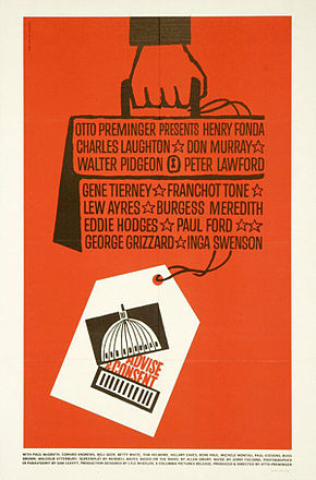 affiche cinema tempete a Washington