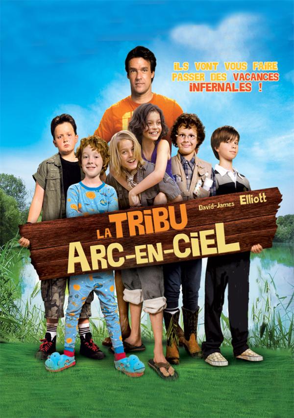 affiche cine la tribu arc en ciel